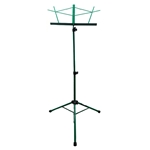 On Stage Tubular Music Stand w/ Bag - Green